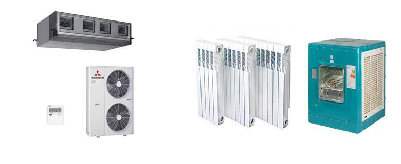 مزایا، مقایسه و برتری داکت اسپلیت نسبت به سایر سیستم های سرمایشی و گرمایشی