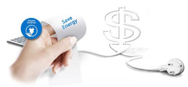 کاهش مصرفی انرژی به واسطه داکت اسپلیت اینورتر بوش 24000